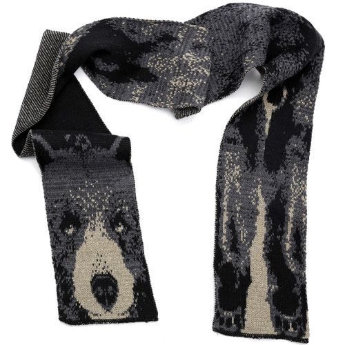 Green 3 Apparel Bear Scarf