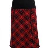 Green 3 Apparel Plaid 4-panel Skirt