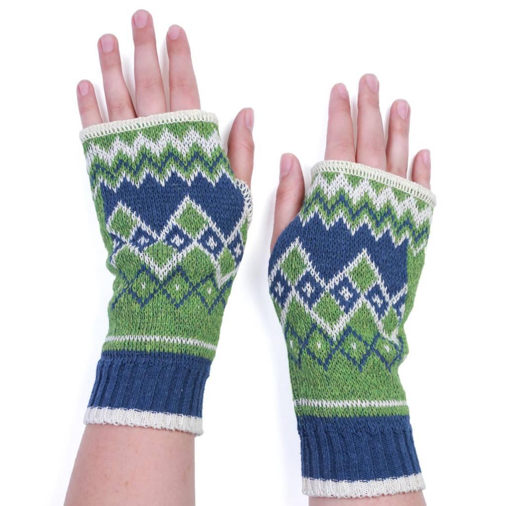 Green 3 Apparel Hi Bye Handwarmers