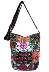 WorldFinds Kutch Hobo Crossbody