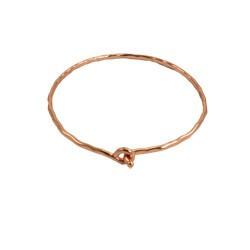 WorldFinds Copper Ripple Bangle Bracelet