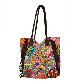 WorldFinds Kutch Tapestry Tote