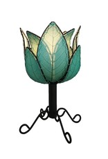 Eangee Outdoor/Indoor Lotus Cocoa Lamp