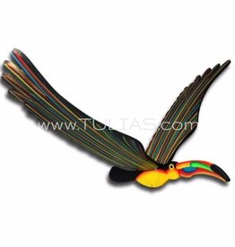 Tulia's Artisan Gallery Toucan Flying Mobile