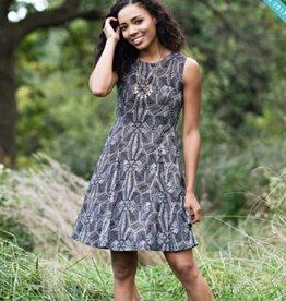 Mata Traders Fine Print Dress