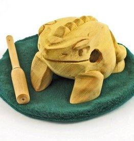 JamTown Frog Scraper w/ Lily Pad
