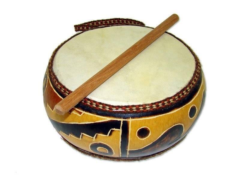 JamTown Gourd Double Drum