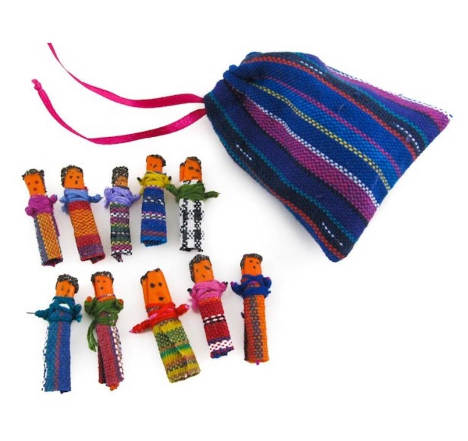 Upavim Crafts Mini Worry Dolls