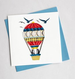 Quilling Card Hot Air Balloon