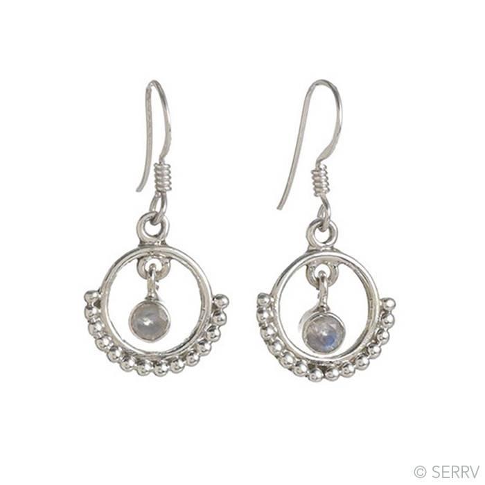 SERRV Halo Drop Earrings