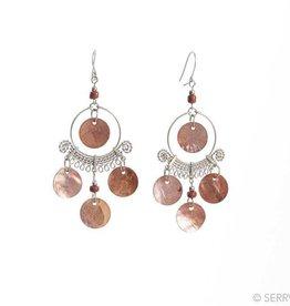 SERRV Coppery Chandelier Earrings