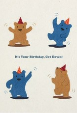 Good Paper Dancing Bears Bithday