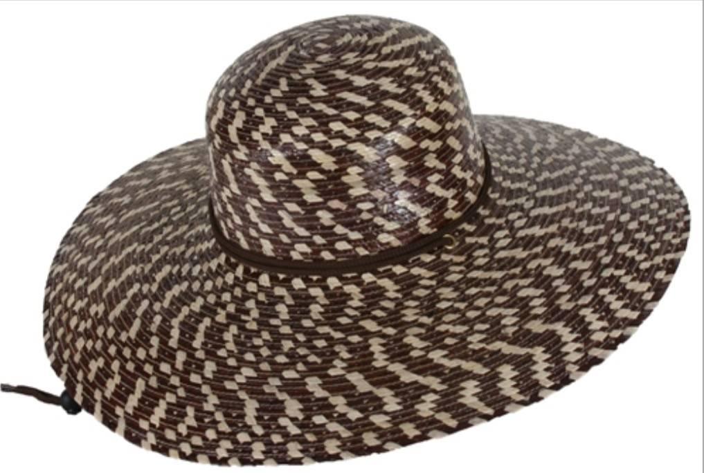 Tula Hats Victoria Brown Checkered