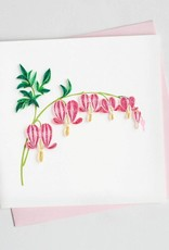 Quilling Card Bleeding Heart