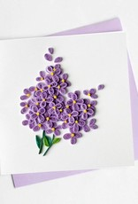 Quilling Card Lilac