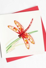 Quilling Card Dragonfly