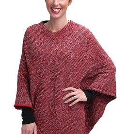 Green 3 Apparel Space Dye Poncho