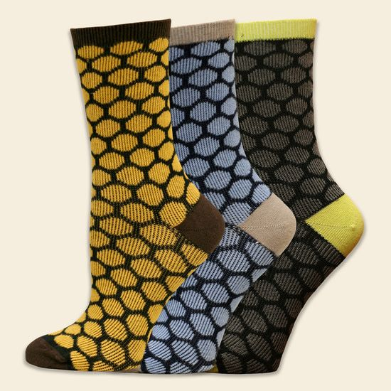 Maggies Organics Trouser Bee Keeper Sock