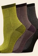 Maggies Organics Trouser Patchwork Sock