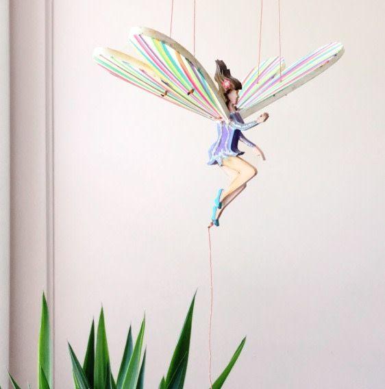 Tulia's Artisan Gallery Fairy Mobile