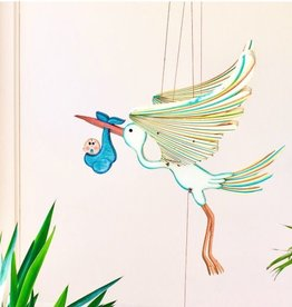 Tulia's Artisan Gallery Stork Mobile
