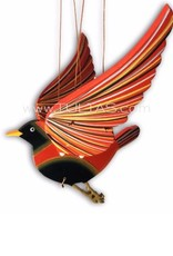 Tulia's Artisan Gallery Sparrow Flying Mobile