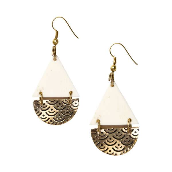 Matr Boomie Anika Teardrop Earrings