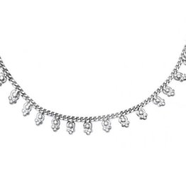 Matr Boomie Silver Charm Necklace