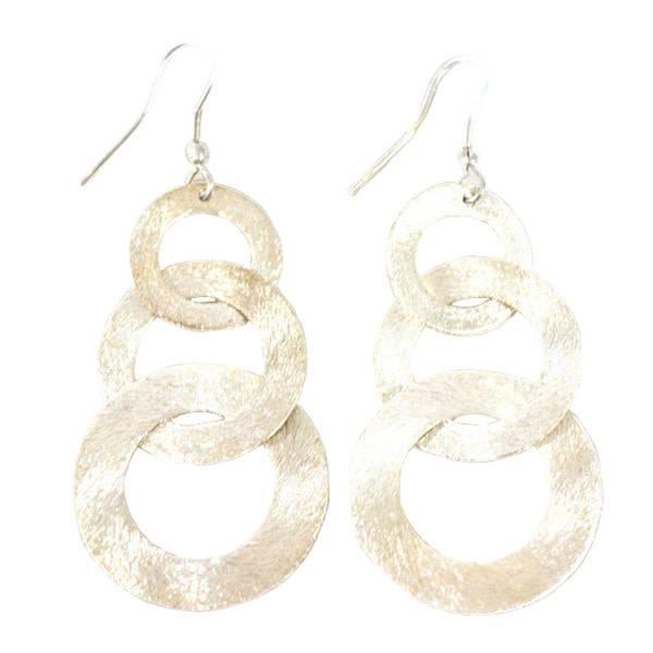 Matr Boomie Linked Up Earrings - Silver