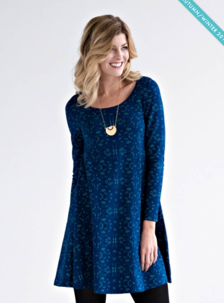Mata Traders Knit Flounce Dress