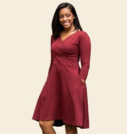 Maggies Organics 3/4 Sleeve Circle Dress