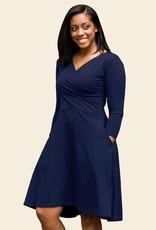Maggies Organics 3/4 Sleeve Circle Dress