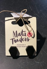 Mata Traders Hexogram Studs