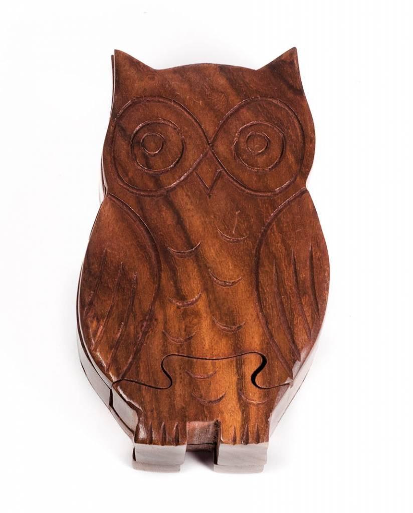 Matr Boomie Owl Puzzle Box