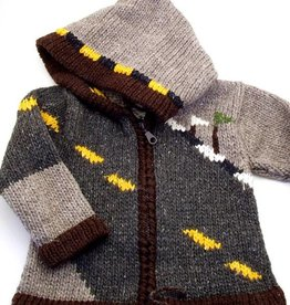 Children's Race Car Sweater