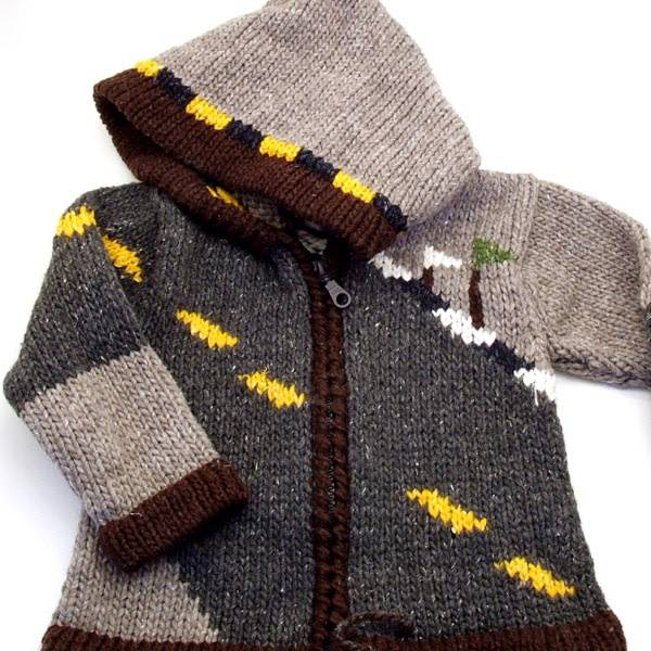 Children Race Car Sweater