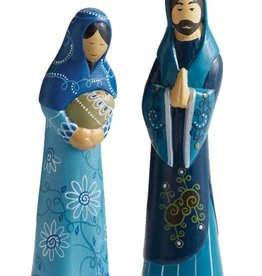 SERRV Heavenly Blue Nativity