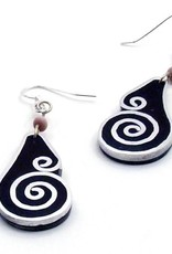 Aluminum Inlay Earrings