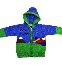 Children Airplane Sweater