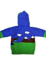 Children's Airplane Sweater