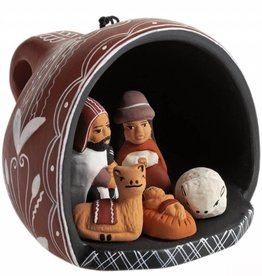 SERRV Tea Cup Nativity Ornament