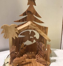 SERRV O'Christmas Tree Nativity