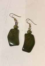 Tagua Ladder Earrings