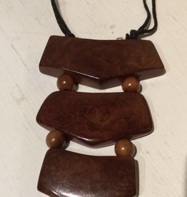 Tagua Ladder Necklace