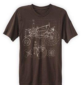 Green 3 Apparel Tractor Blueprint
