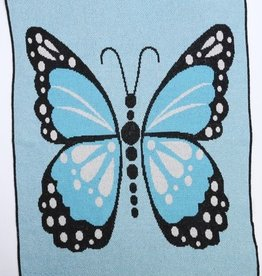 Green 3 Apparel Butterfly Kisses Throw