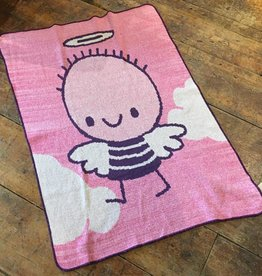 Green 3 Apparel Lil' Angel Jr Throw