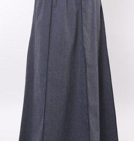 Green 3 Apparel Maxi Denim Skirt