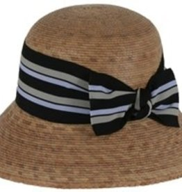 Tula Hats Ella Multi Striped Bow