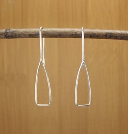 WorldFinds Petite Paddle Drop Earrings